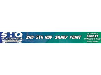 SHQ Sandy Point Melbourne Cup Weekend Event - Windsurfing News