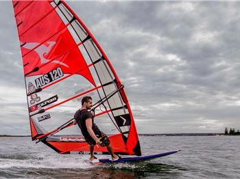 Perfect Conditions on Day 1 of the Downunder Pro - Windsurfing News