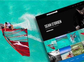 Sean O'Brien launches his all new 2014 campaign website. - Windsurfing News