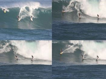 Surfer treats Eye condition by wipeout. - Surfing News
