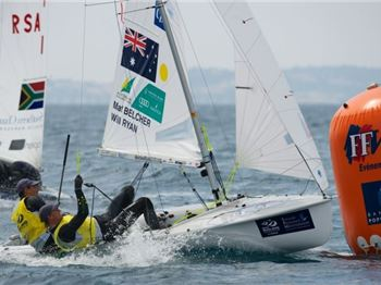 Light winds in first days of World Sailing Champs - Sailing News