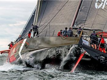 Comanche sets sail: Sailors turn green. - Sailing News
