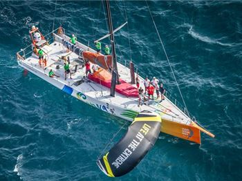 Volvo Ocean Racers to Use Kites in Emergency - Sailing News