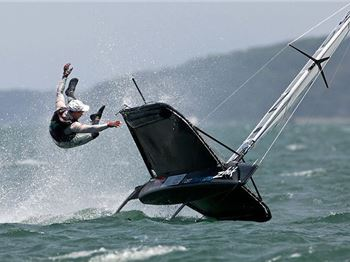 Moth World Champs this weekend in Victoria. - Sailing News