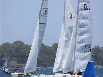 Australian Nacra title winners - Sailing News