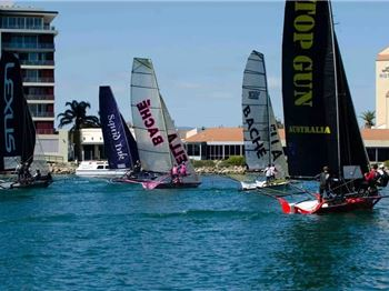 The Lakes Resort Hotel Skiff Sprint Series - Sailing News