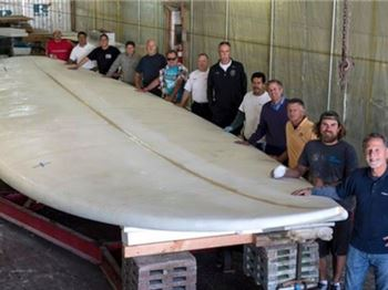 Breaking a World Record with a 42ft 'Shortboard' - Surfing News