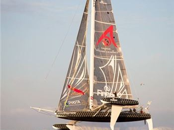 Sailing from LA to Hawaii in 4 days - Hydroptere. - Sailing News
