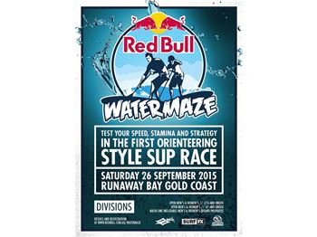 Red Bull 'Water Maze' debuts on the Gold Coast. - Stand Up Paddle News