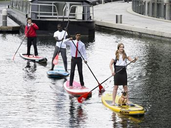 8% of Australian's commute to work by SUP - Stand Up Paddle News