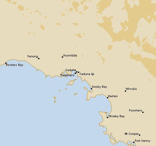 Ceduna Rain Radar (SA), 128km | Seabreeze