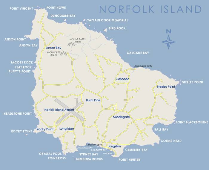 Norfolk Island How To Get There