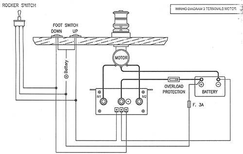 electric anchor winch wiring diagram chicago electric winch wiring diagram