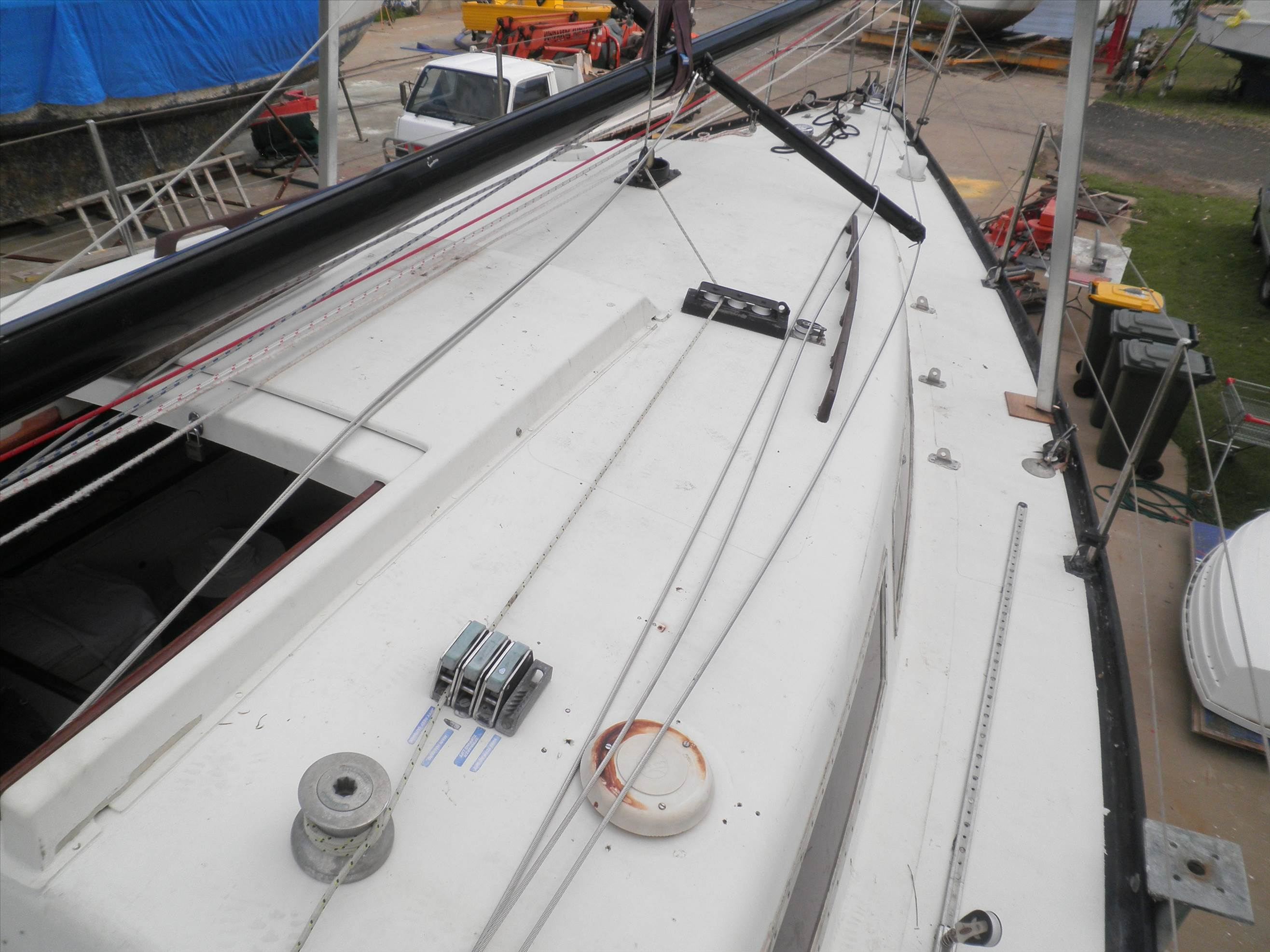 D I Y  Mast Down, New Rig, Mast Up  | Sailing Forums, page 1