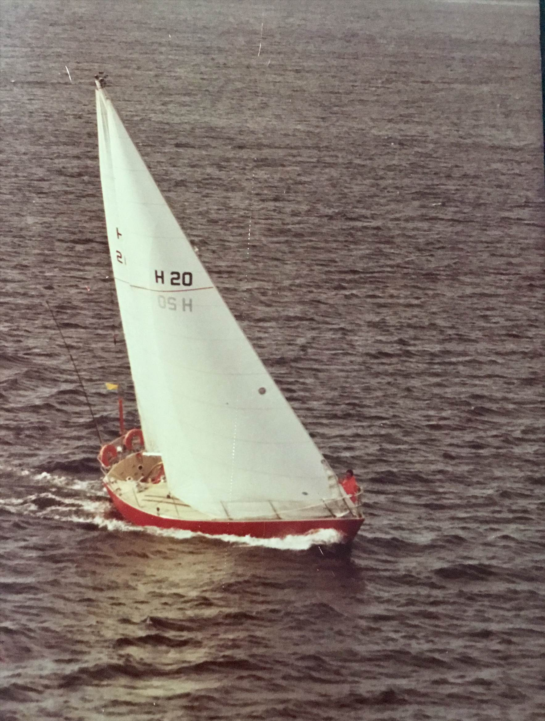 Racing with a extra large hanked headsail | Sailing Forums