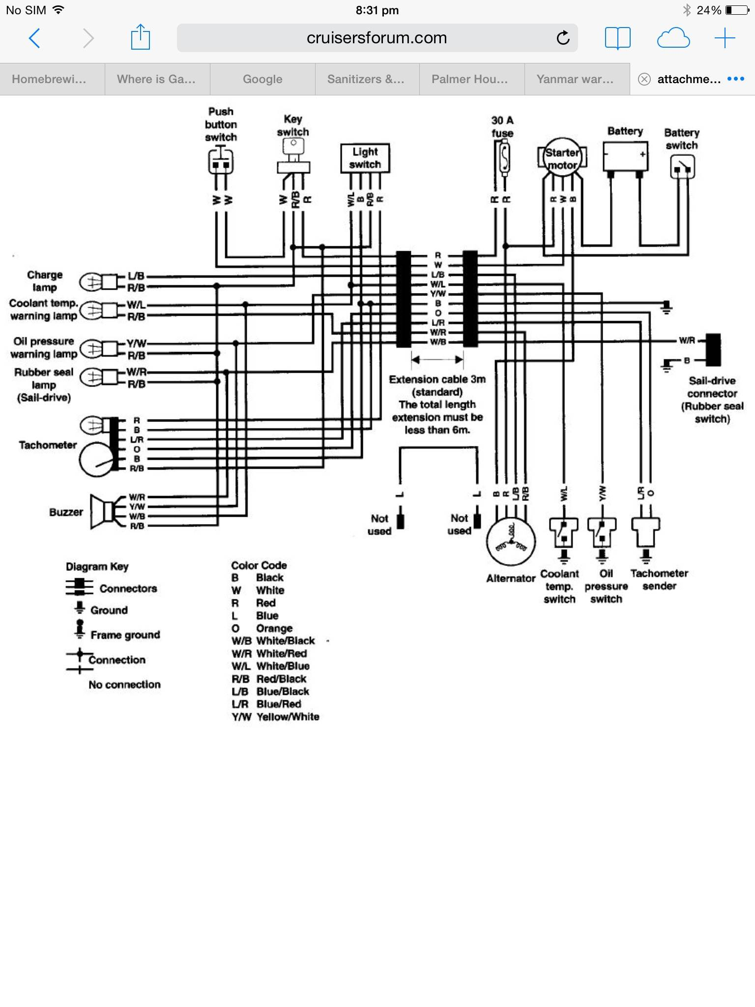 8479024 Yanmar Tachometer Wiring Diagram on yanmar engine diagram, ignition switch diagram, yanmar generator, yanmar ym2200 parts, yanmar starter, yanmar 3gm30f parts diagram, yanmar parts catalog, yanmar tractor, yanmar voltage regulator, yanmar alternator wiring, yanmar parts breakdown, diagram of a molded case switch diagram, yanmar wire harness, yanmar fuel pump diagram,
