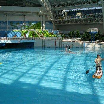 Sups in a wave pool stand up paddle forums page 1 for Stand up pool