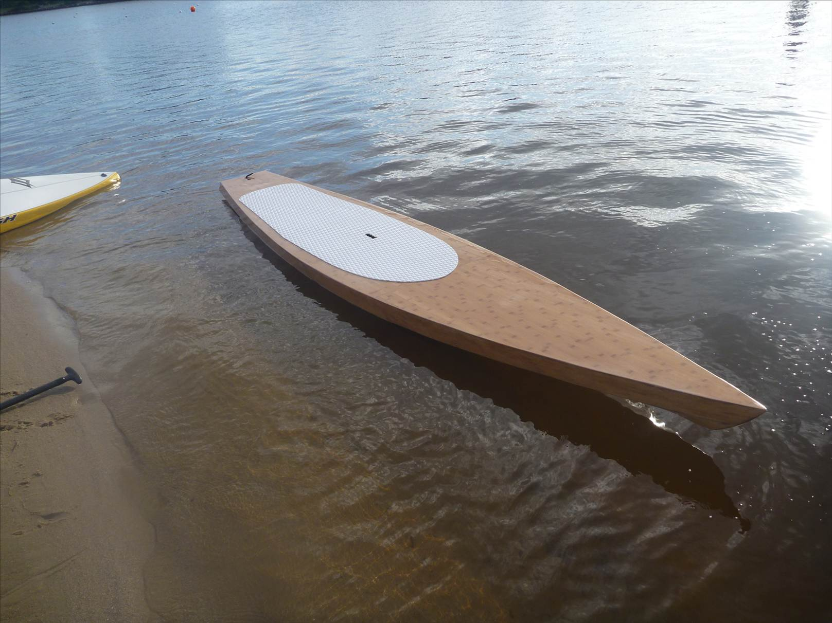 Wopa Wood Strip Stand Up Paddle Board Plans