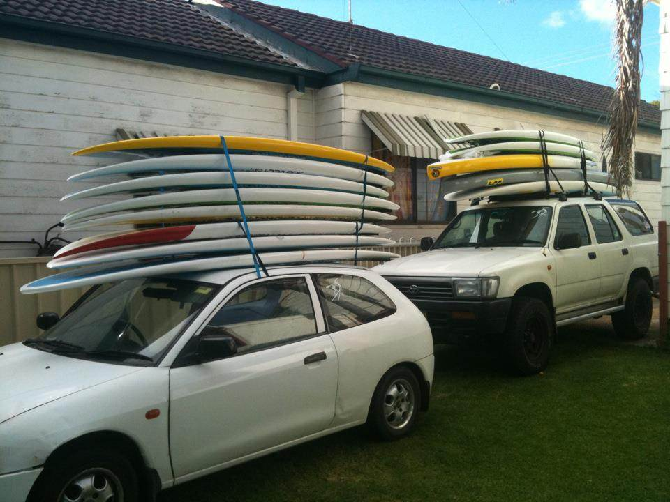 Transport Safety Tips For Sup S On Roof Racks Stand Up