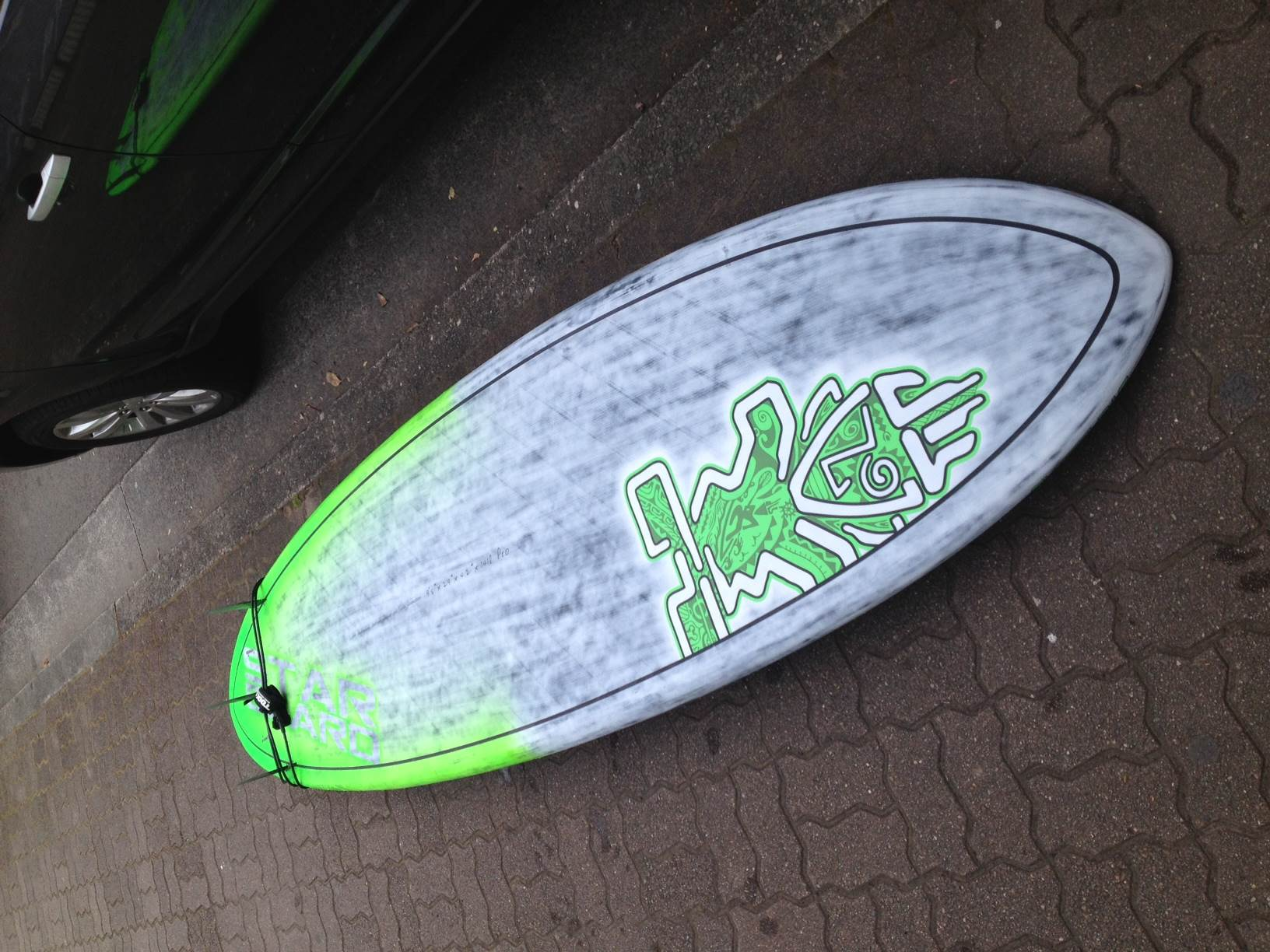 Starboard Pro 9 8 Quot 2014 Brushed Carbon Stand Up Paddle