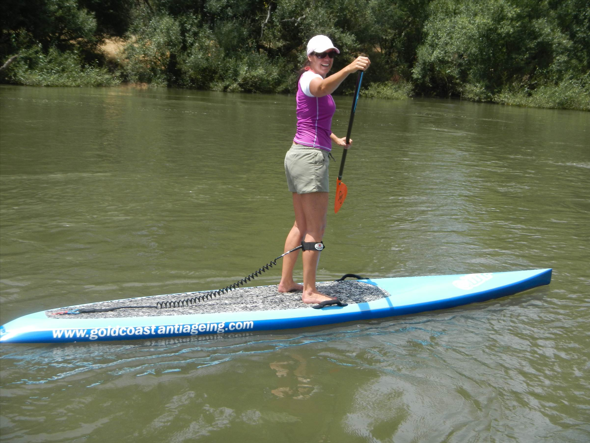 Sup On Murray River Stand Up Paddle Sup Seabreeze