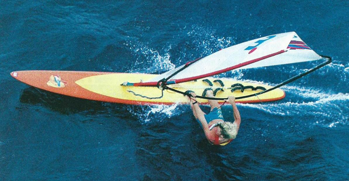 Mark Pedersen Retro PWA Course Board | Windsurfing Forums, page 1