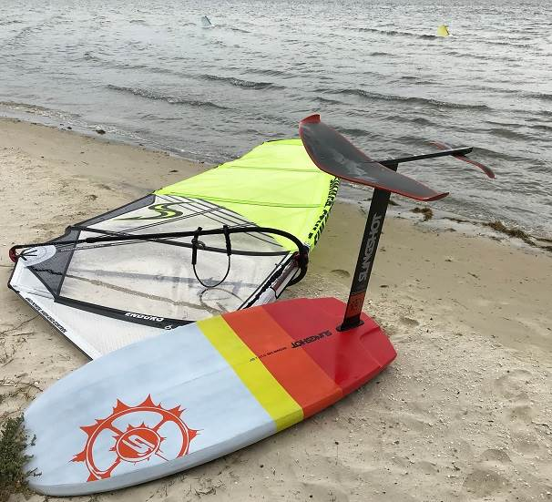 Slingshot Hover Glide Infinity 84 wing review | Windsurfing
