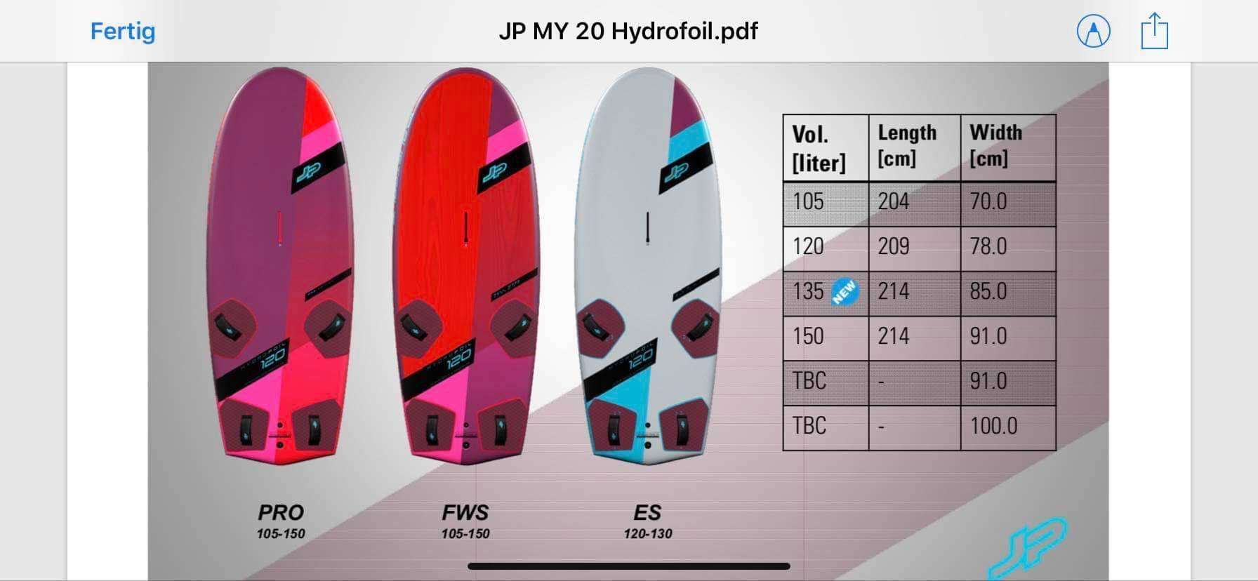 JP Hydrofoil 2020   Windsurfing Forums, page 1