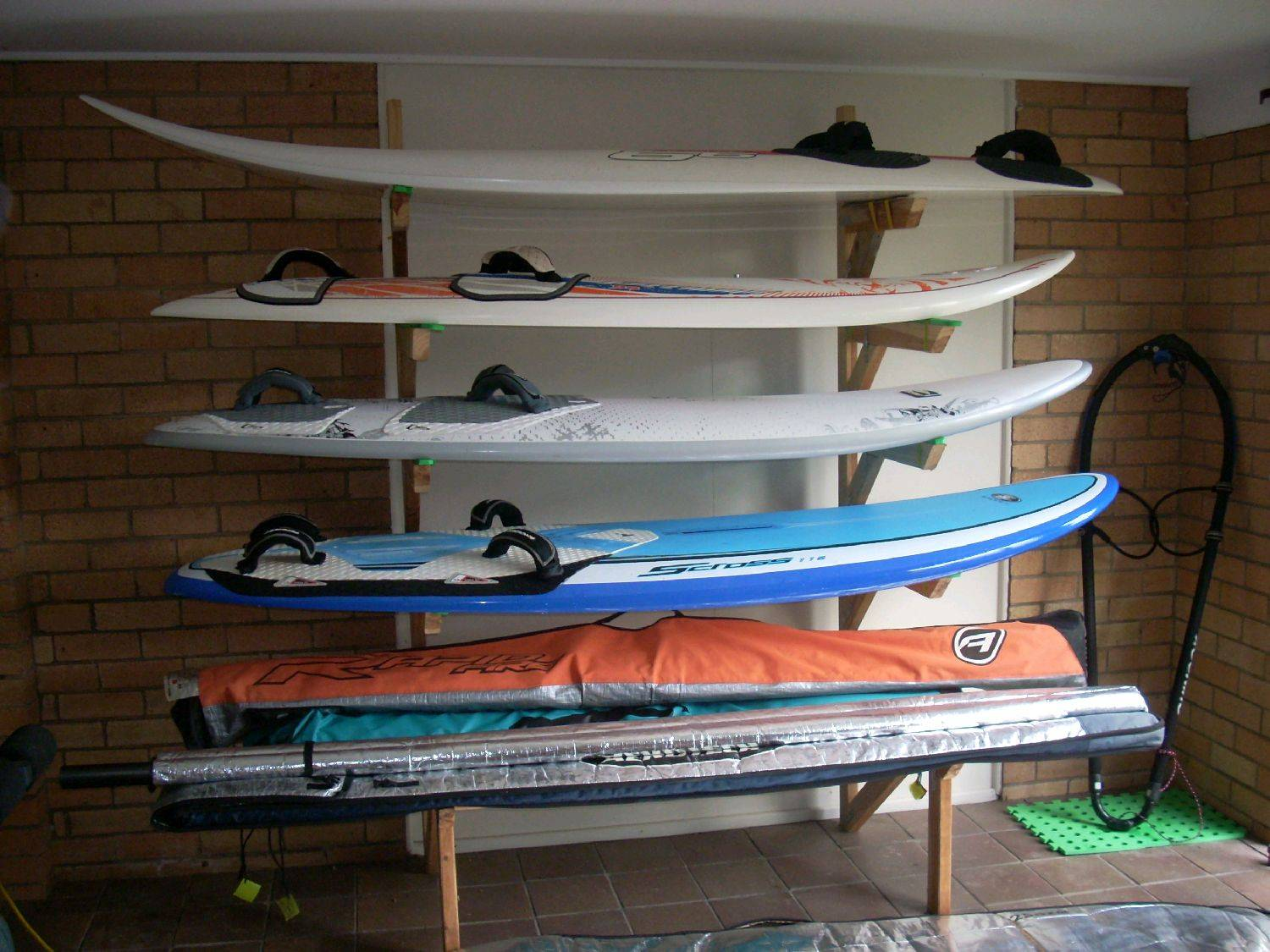 Board Gear Racks For The Garage Windsurfing Forums Page 1