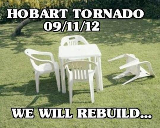 Hobart tornado windsurfing forums page 1 for Outdoor furniture hobart