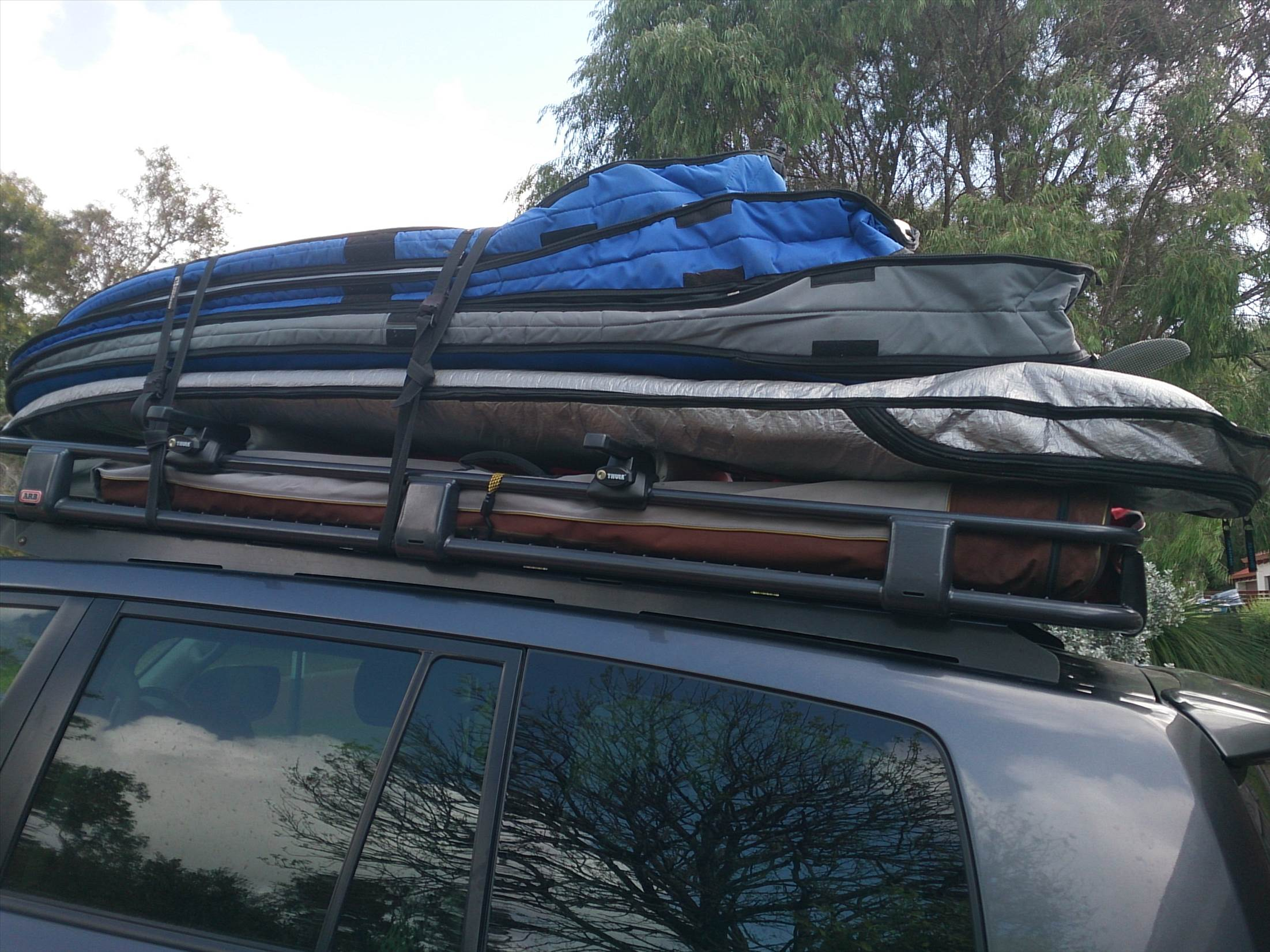 Double Decker Roof Rack Windsurfing Forums Page 1