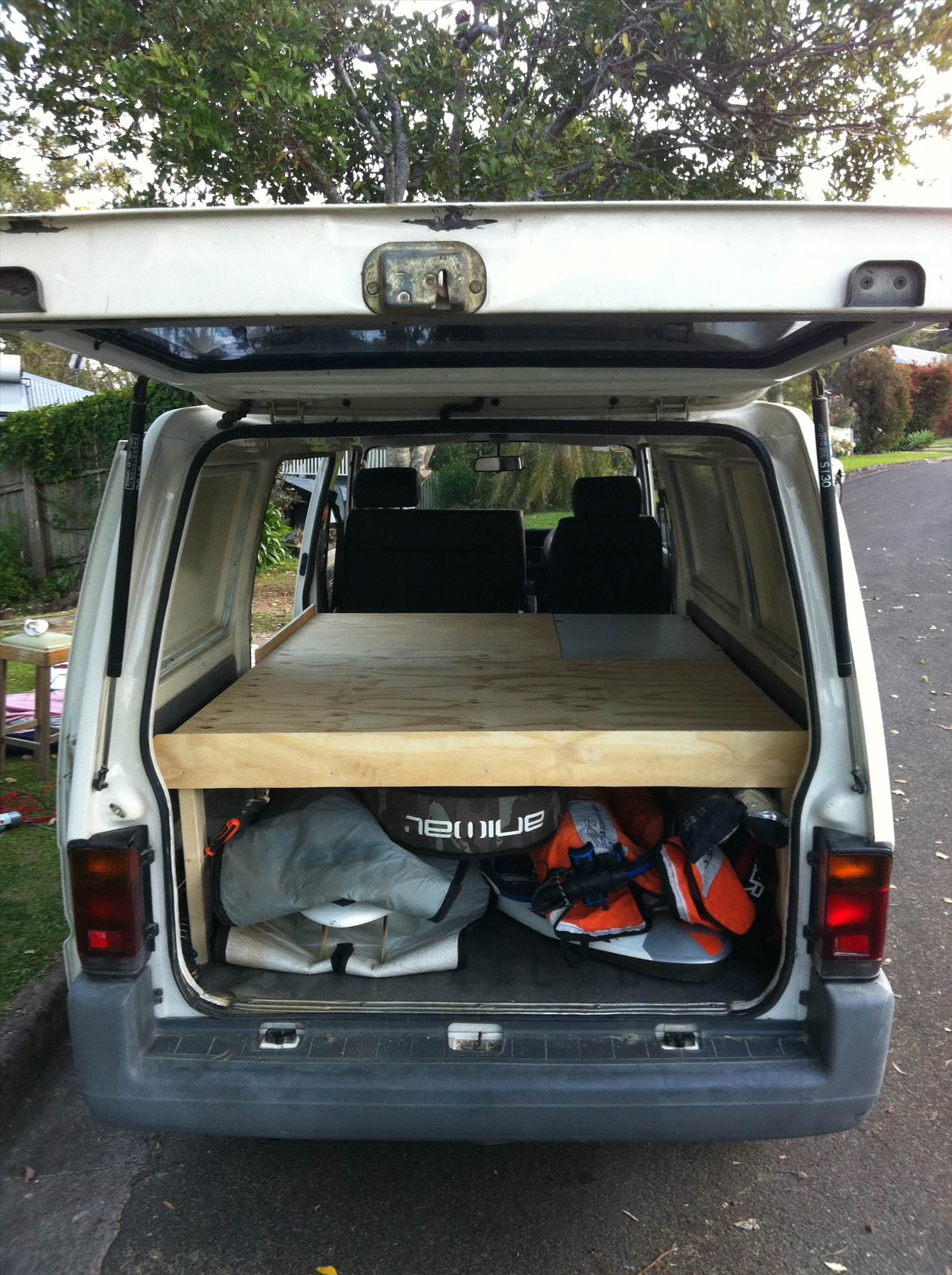 The Engine Room From Way Back: Wanted Van For Gear And Sleep