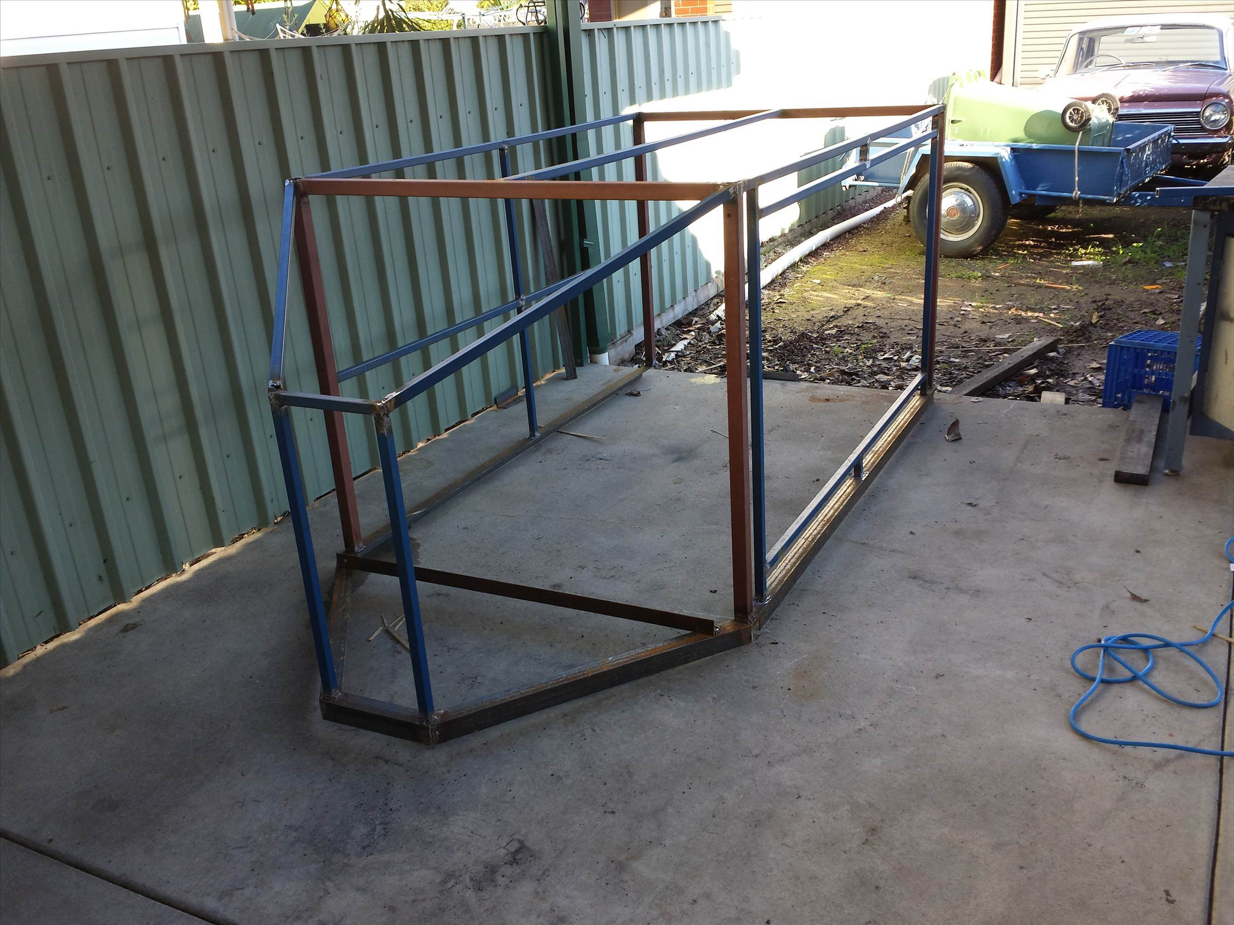 Box trailer ideas windsurfing forums page 1 for How to build a trailer plans free