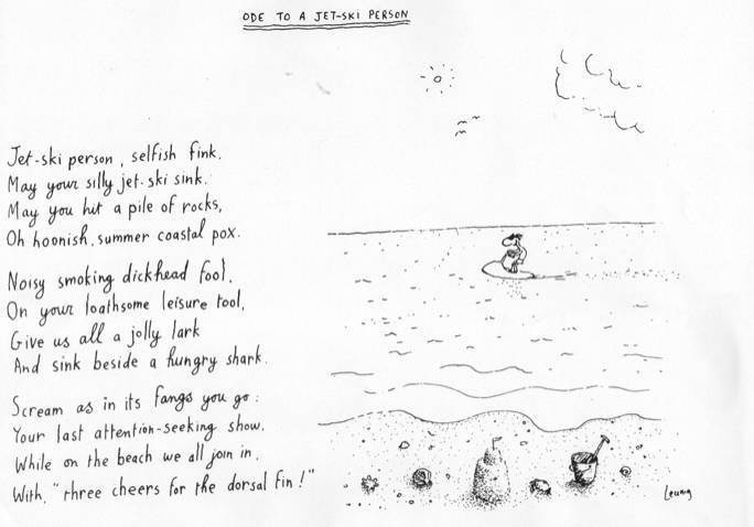 ODE TO A JET-SKI PERSON | General Discussion Forums, page 1