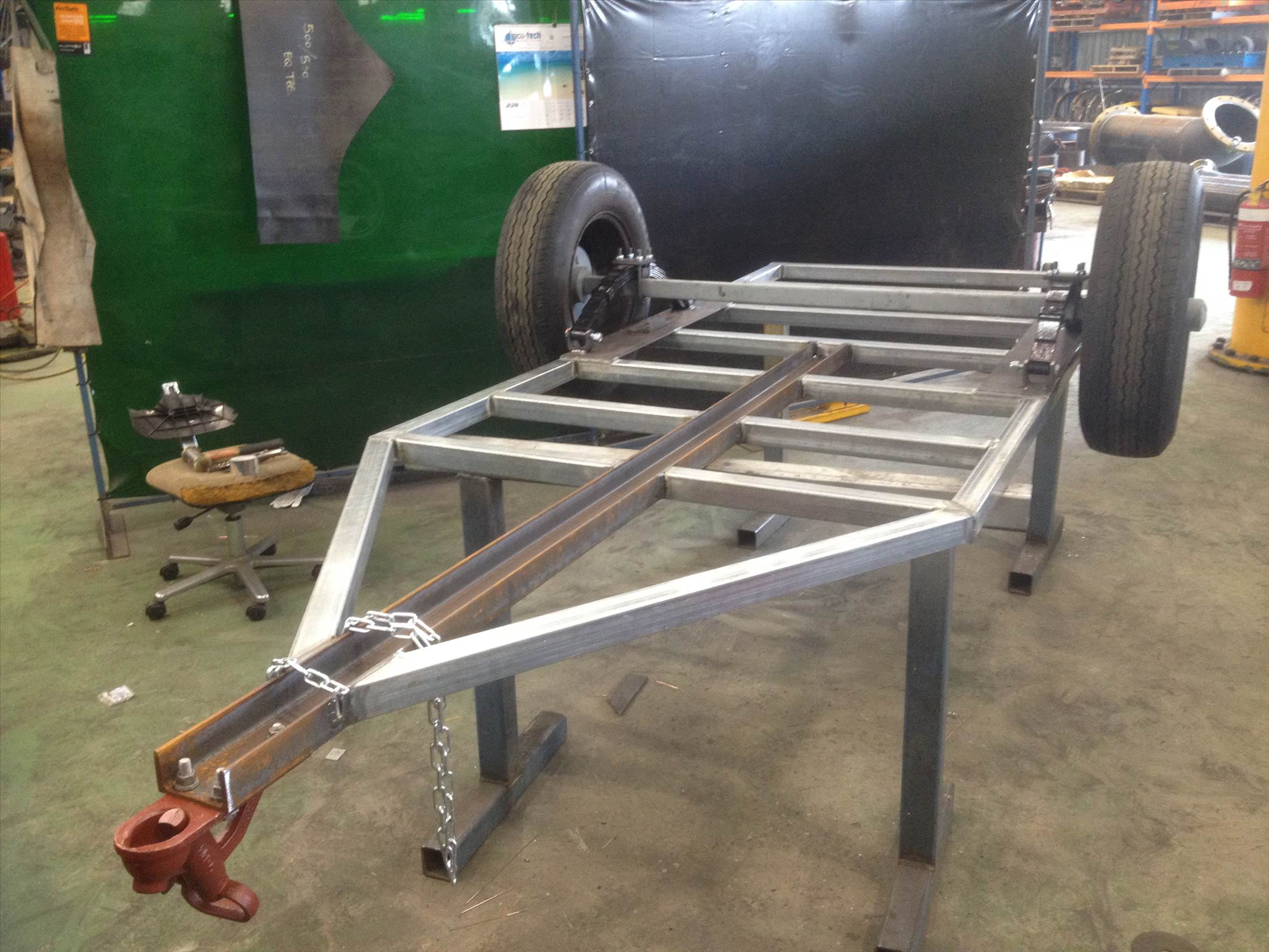 Windsurfing Trailer- Winter Project Journal | Windsurfing Forums, page 1